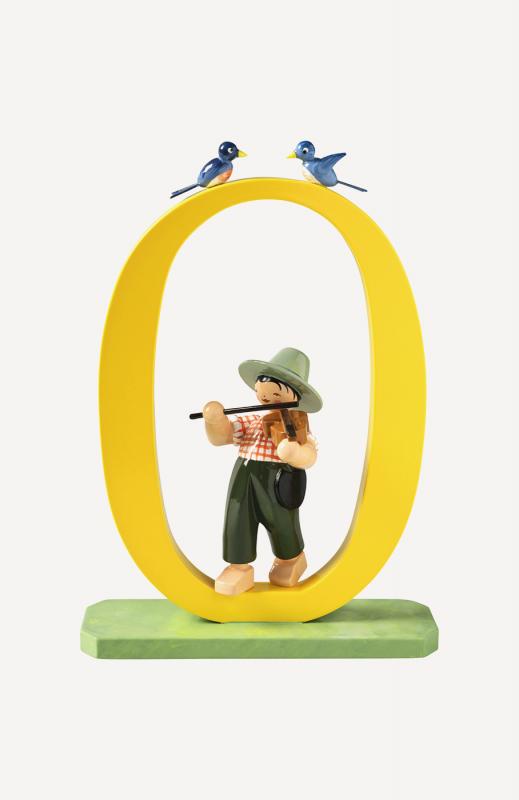 aZahl 0, Junge mit Geige