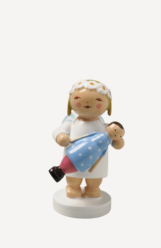 aMargeritenengel mit Puppe